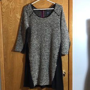 Anthropologie Mauve Dress